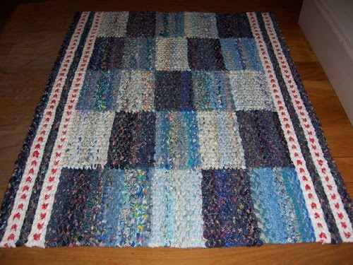 Chantal S Studio Entre Deux Mers Twined Rag Rug Tapis