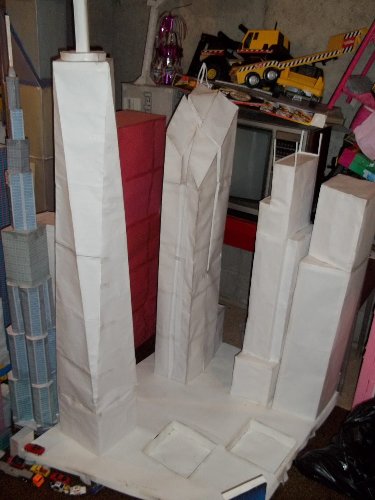 My Paper Model City My Paper Model City