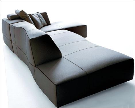 Trendoffice new furniture by patricia urquiola at milan for B et b italia