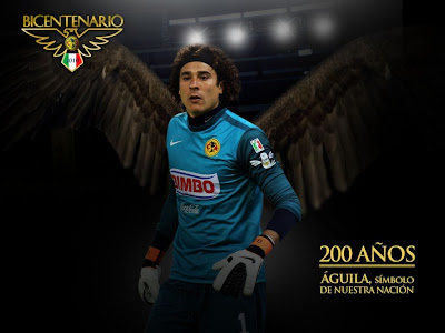 Club am rica wallpapers oficiales bicentenario club - Guillermo ochoa wallpaper ...