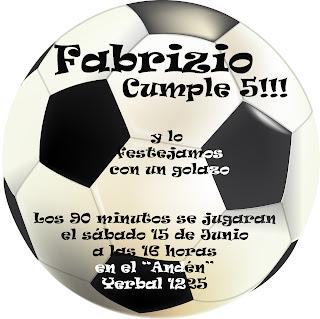 Tarjetas Cumpleaños Para Imprimir De Futbol