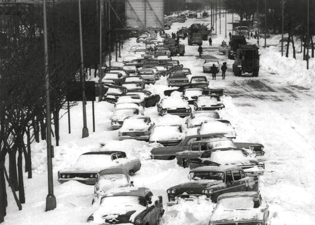 Chuck S Adventures The Great Chicago Blizzard Of 1967