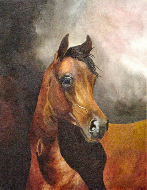 Horse Artists Oil Paintings