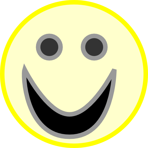 clipart smiley face - photo #25