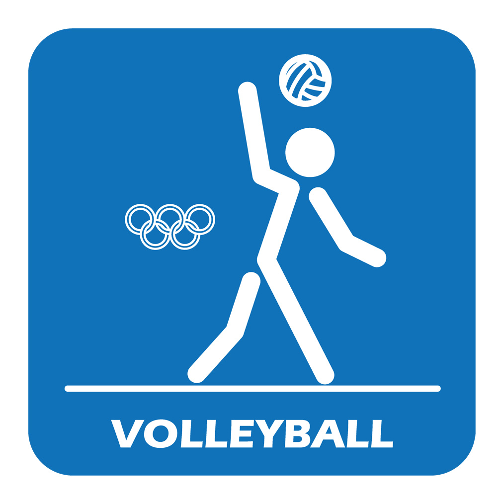 clipart pictures of volleyball - photo #33