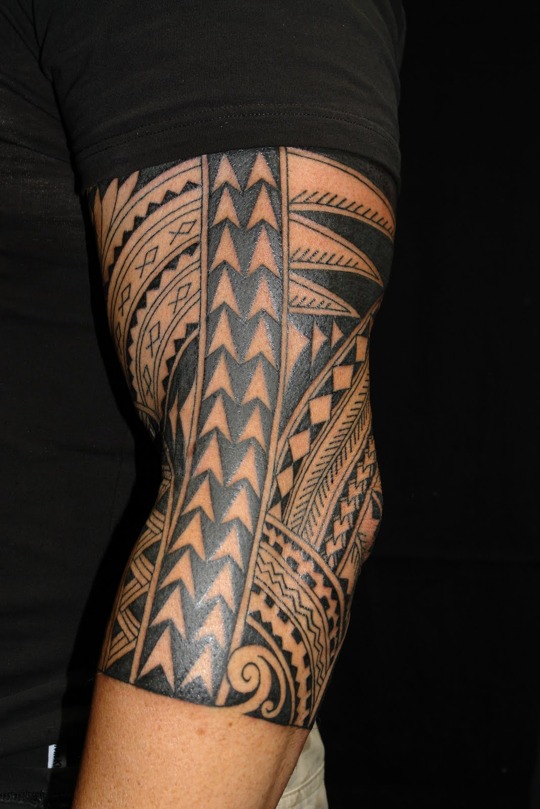 MAORI POLYNESIAN TATTOO: Polynesian Half Sleeve
