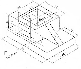 DrawingTech: Orthographic Drawing (Assignment 12, 13, 14