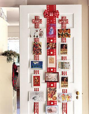 Maddycakes muse christmas card display ideas - Christmas card display ideas ...