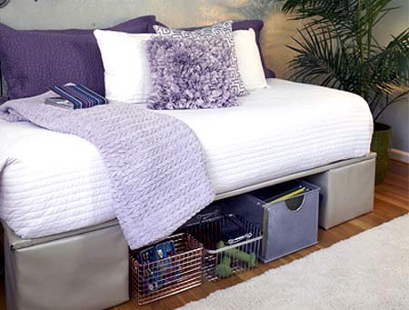 build a platform bed with cinder blocks | Quick Woodworking Projects