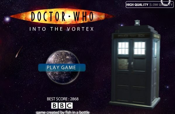 Time Who Doctor Opening Vortex