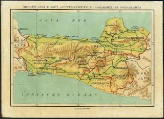 Hasil gambar untuk peta jawa tengah jaman dulu