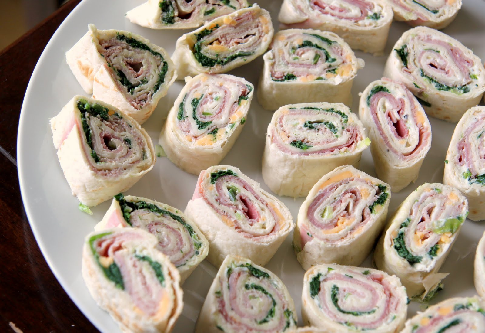 Tortilla Pinwheels- absolute party snack (did I say EASY?)
