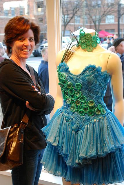 Fashion For The Strange: Condom Dresses