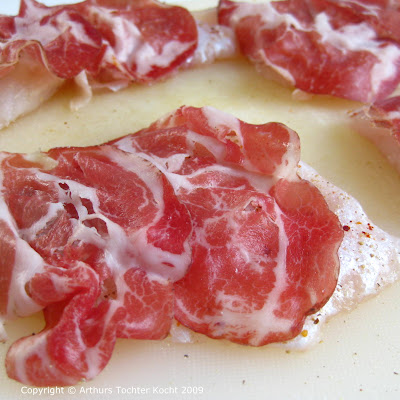 Rotbarschfilets roh mit Coppa | Arthurs Tochter kocht. von Astrid Paul. Der Blog für food, wine, travel & love