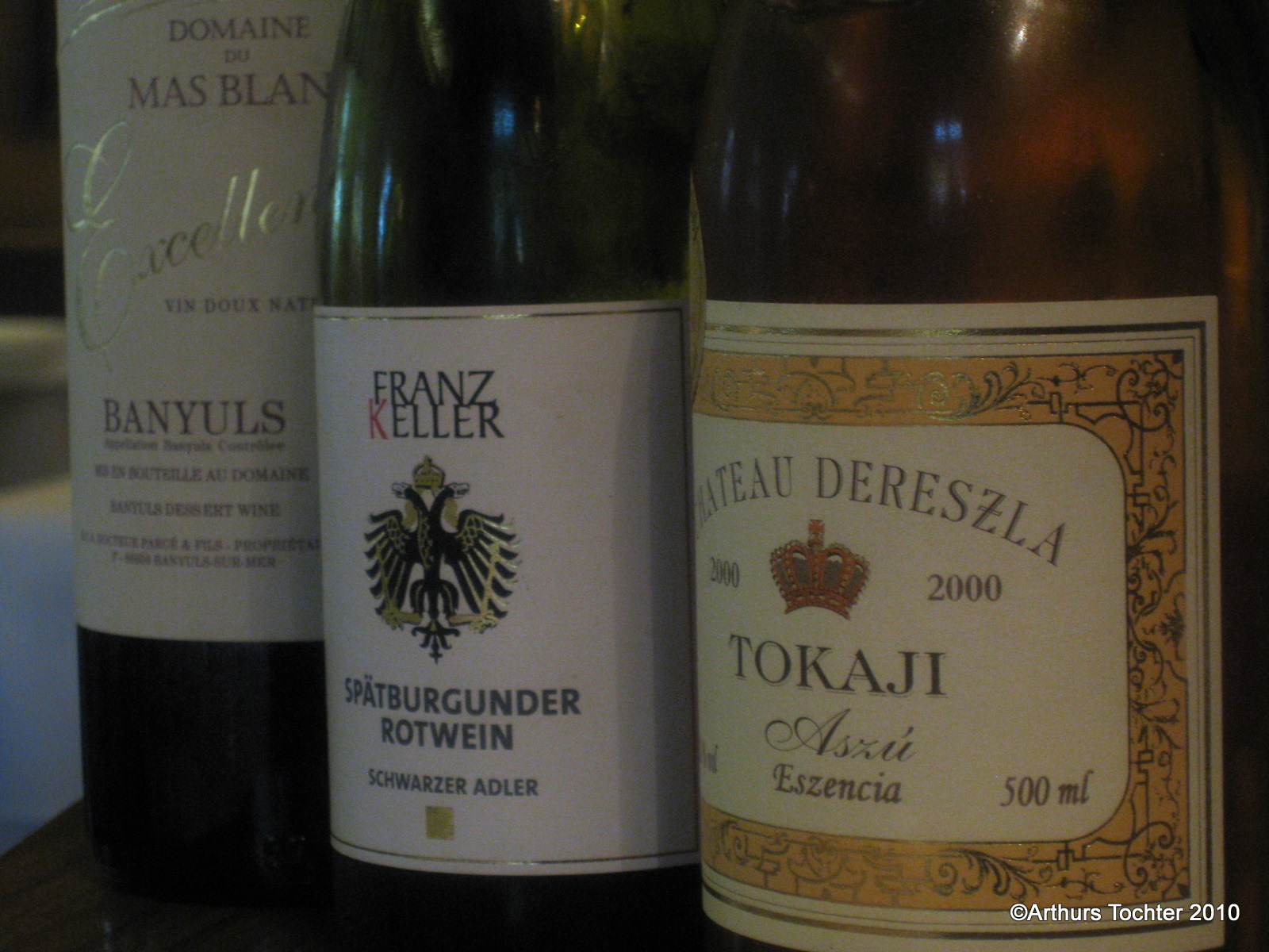 Die Dessertweine im Menü im Schwarzen Adler | Arthurs Tochter kocht. von Astrid Paul. Der Blog für food, wine, travel & love