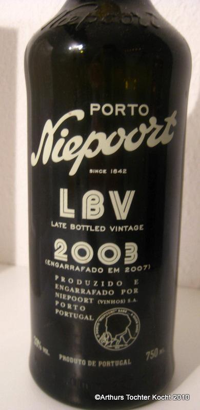 Niepoort LBV 2003 | Arthurs Tochter kocht. von Astrid Paul. Der Blog für food, wine, travel & love
