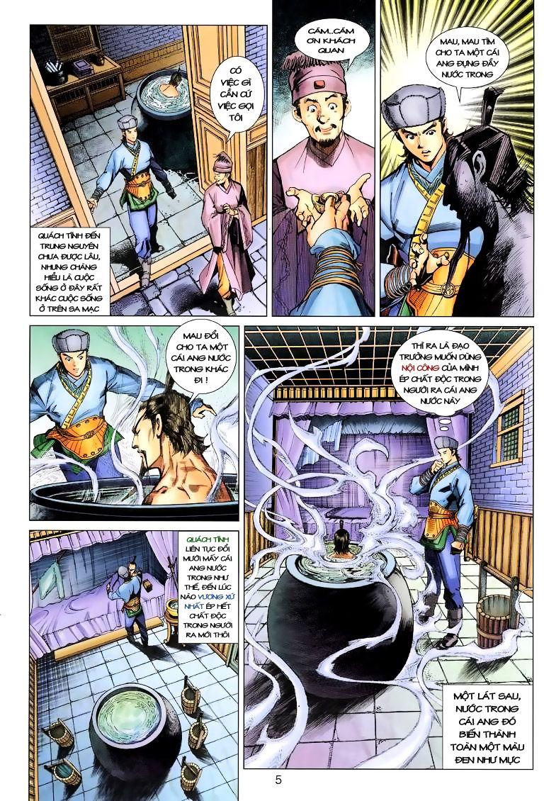 Anh Hùng Xạ Điêu anh hùng xạ đêu chap 9 trang 5
