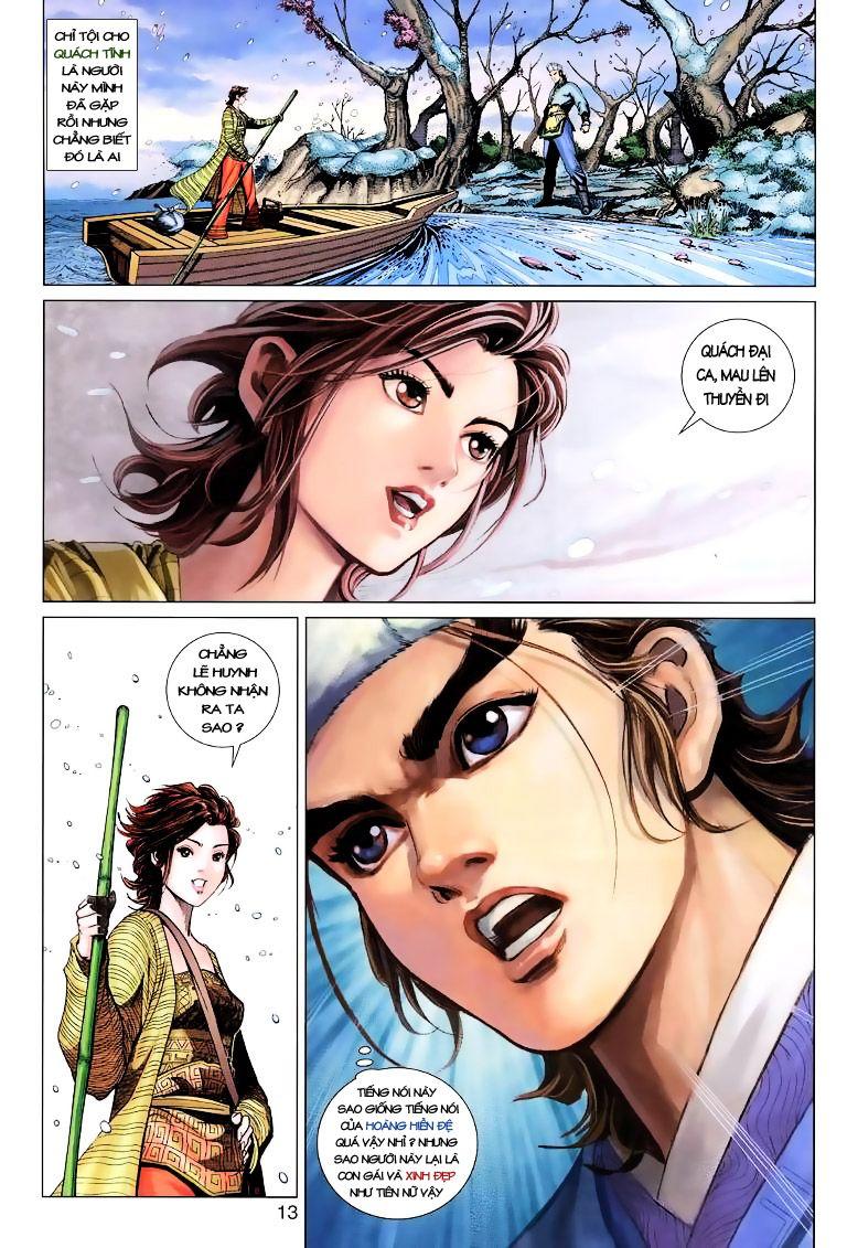 Anh Hùng Xạ Điêu anh hùng xạ đêu chap 9 trang 13