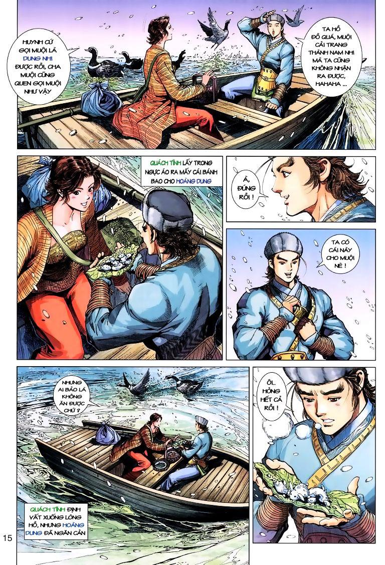 Anh Hùng Xạ Điêu anh hùng xạ đêu chap 9 trang 15