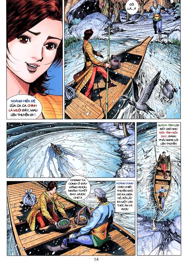 Anh Hùng Xạ Điêu anh hùng xạ đêu chap 9 trang 14
