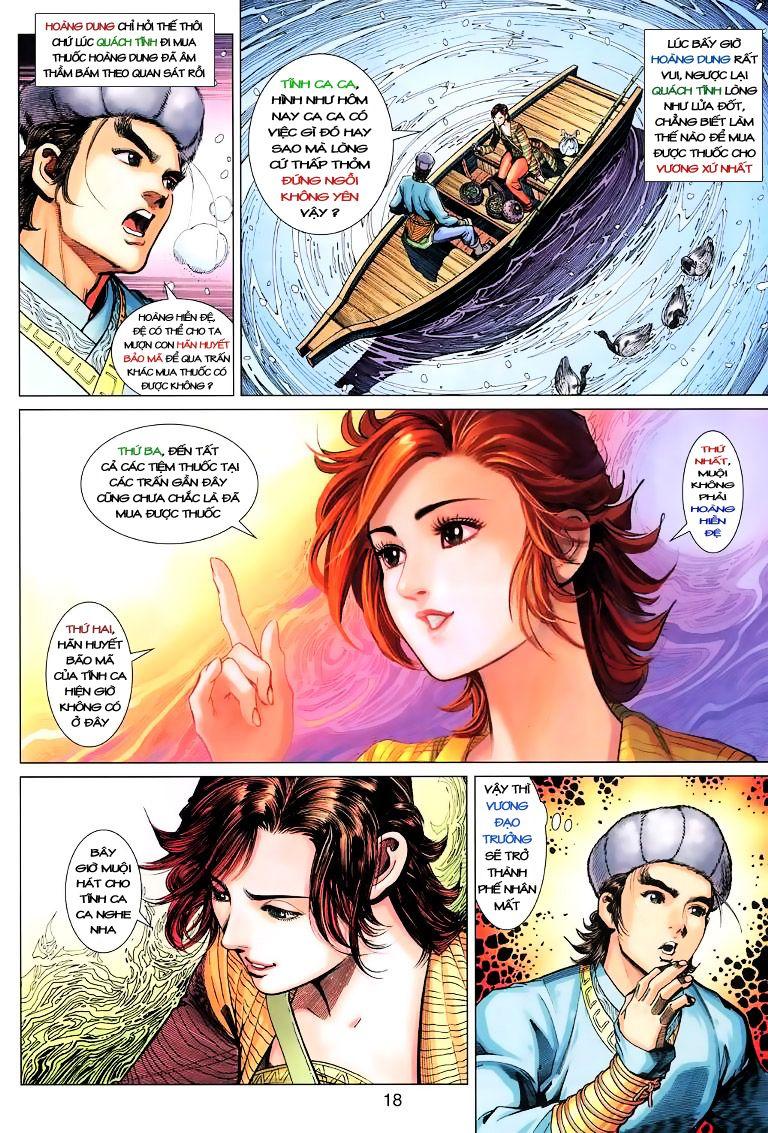 Anh Hùng Xạ Điêu anh hùng xạ đêu chap 9 trang 18