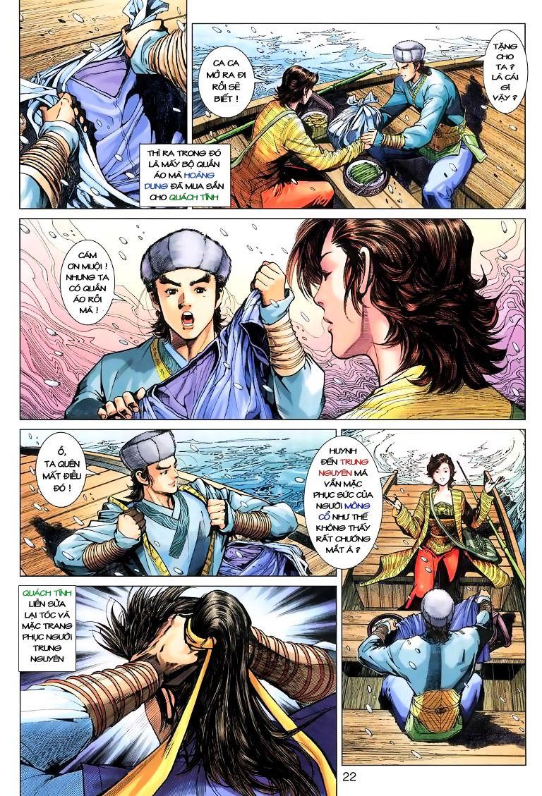 Anh Hùng Xạ Điêu anh hùng xạ đêu chap 9 trang 22