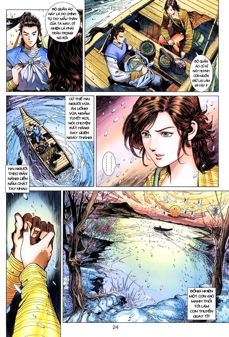 Anh Hùng Xạ Điêu anh hùng xạ đêu chap 9 trang 24