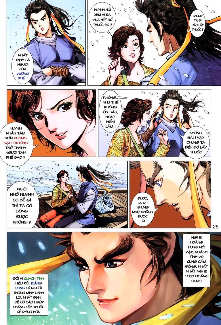 Anh Hùng Xạ Điêu anh hùng xạ đêu chap 9 trang 26
