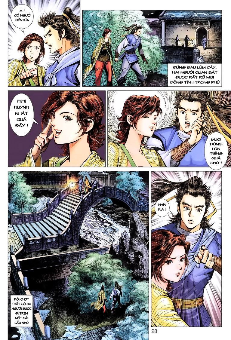 Anh Hùng Xạ Điêu anh hùng xạ đêu chap 9 trang 28
