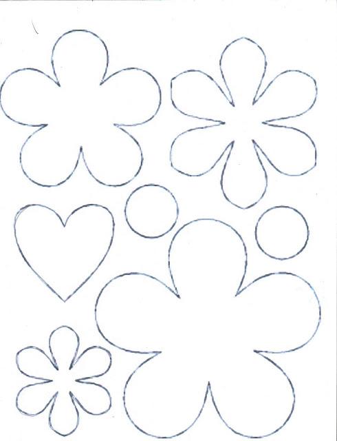 Moldes De Flores Imprimir Imagui