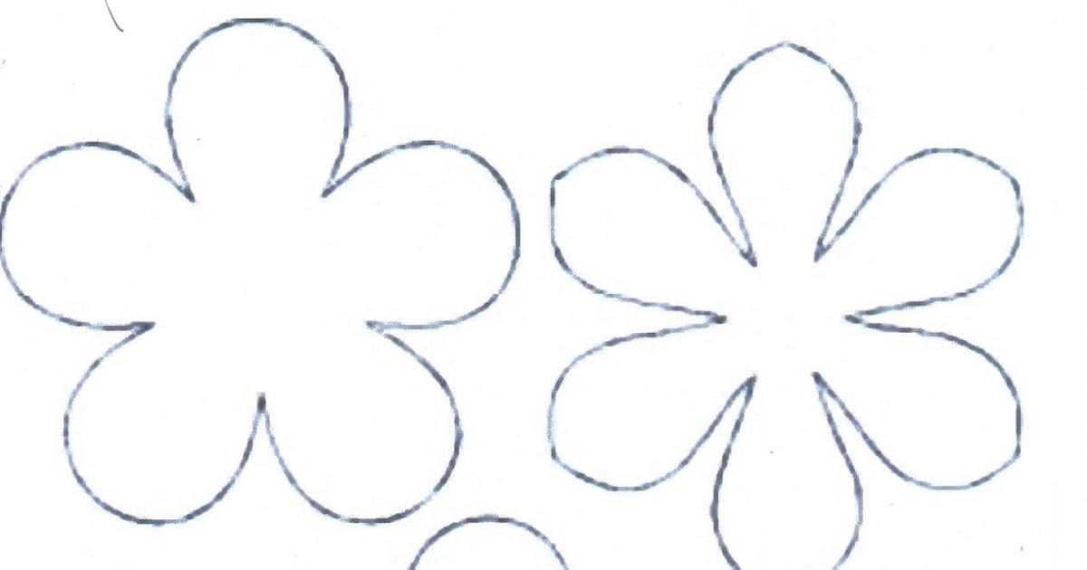Moldes De Flores Para Imprimir De Navidad