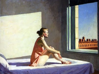 Edouard Hoopper, the morning sun
