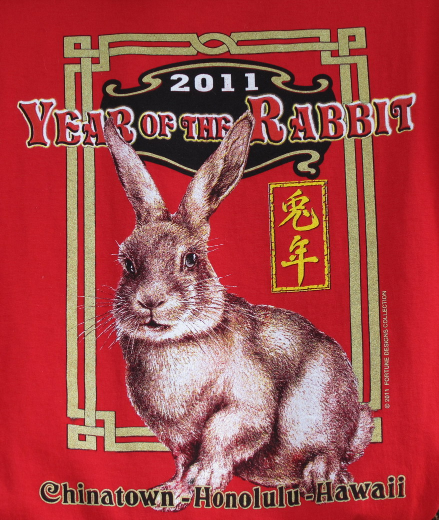 ff396f145de1 Tuesday, February 1st was the first day, New Year's Day, of the year 4709 -  The Year of the Rabbit in the Chinese Lunar Calendar – the 4th year of the  12 ...