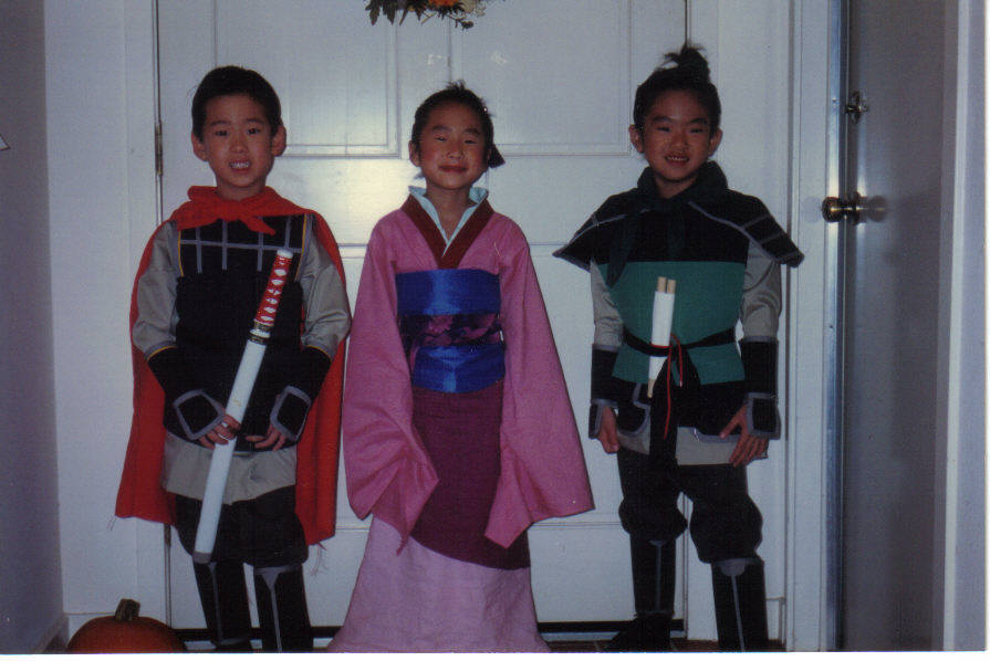 ... soldier Mulan who impersonated her father and went to fight in the war. After my cousin heard about the costumes he wanted to join us as General Shang.  sc 1 st  Design in society & Design in society: My First Encounter with Design