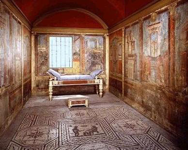 L 39 abitazione romana - Camera da letto antica ...