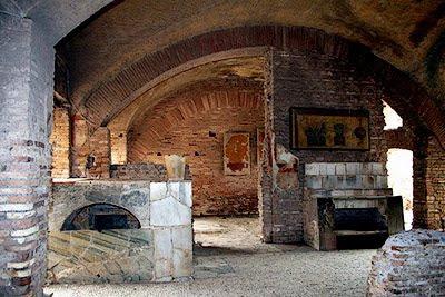 Le strade romane for Interno 1 ostia