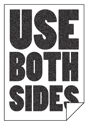 use both sides