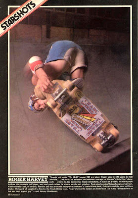 Rodga Harvey, tailblock  edger, 1978