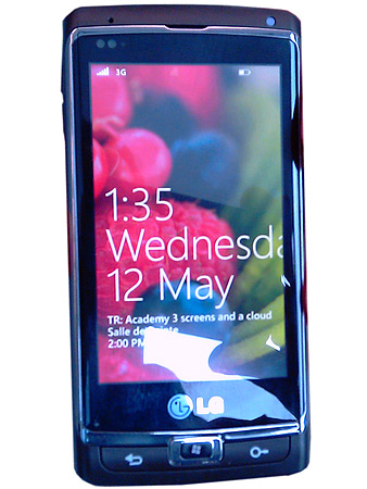 Surfaced LG GW910 Panther-First Features Of The Touch Screen Smartphone With Windows Phone 7