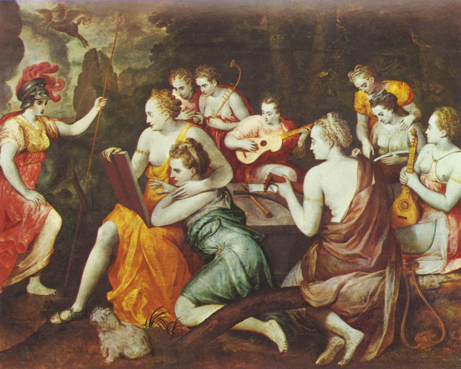Mitologia Grega: Mnemosine e as Musas