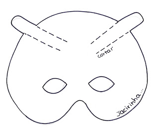 4785d773e6 Oficina de Criatividade: Máscara da Joaninha