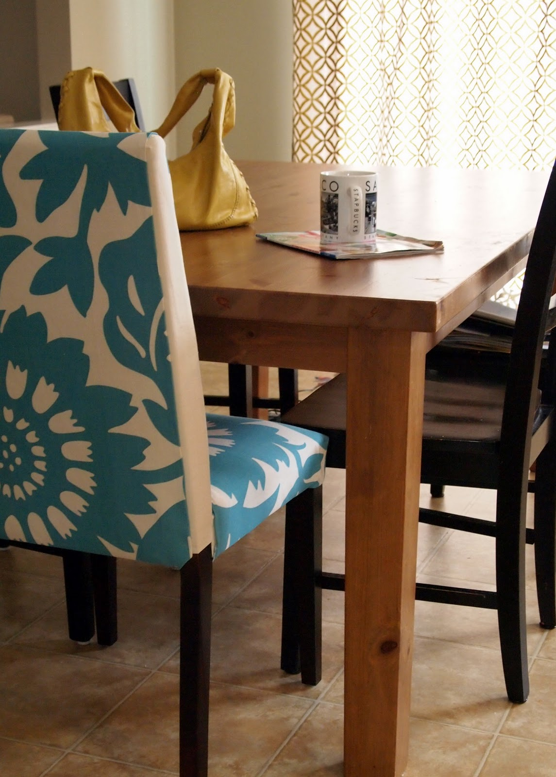 Diy Parsons Chair Covers Fishing Pole Holder Loveyourroom My Morning Slip Cover Project Using