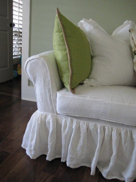 Cottage And Cabin Interiors And Collections: White Linen