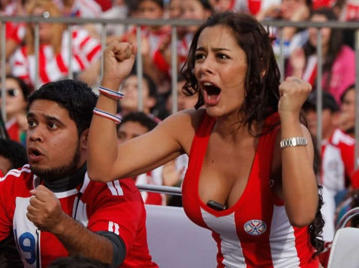 paraguay fan larissa riquelme