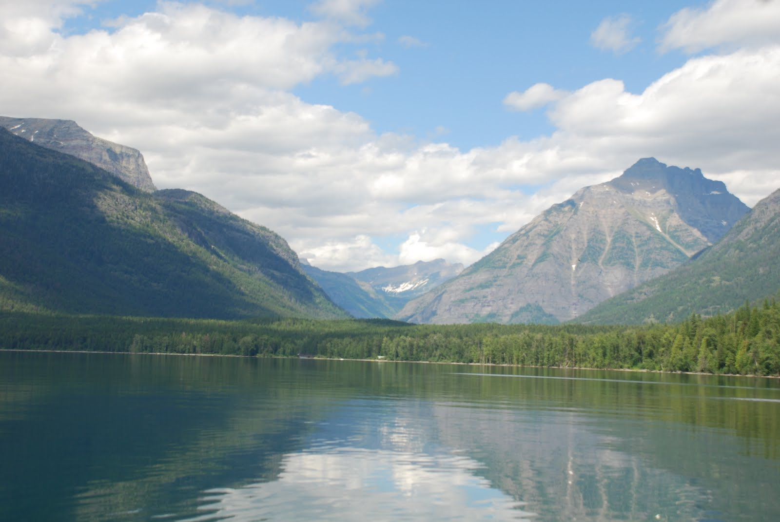 Bach Traveling Time: Lake McDonald And Last Of Glacier