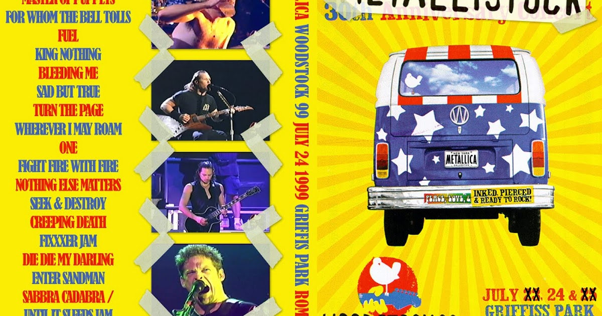 DOUGLAS - DVDs Trade: Metallica - Woodstock '99