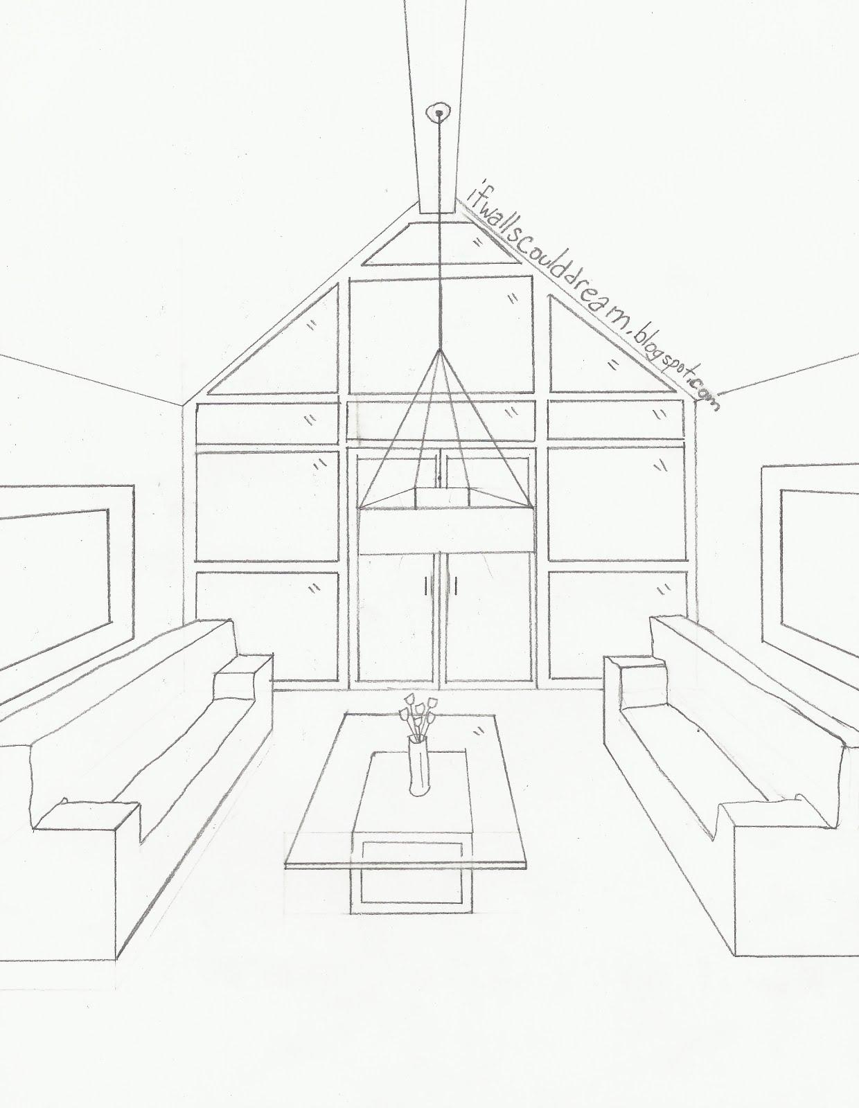 Room Sketching: Modern Inspiration