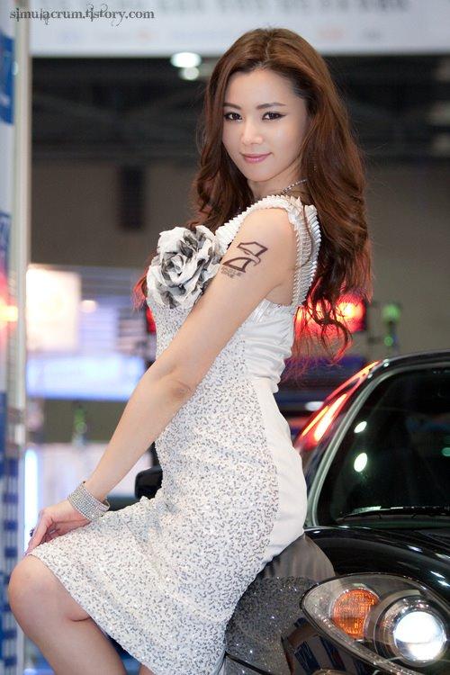art fashion min seo hee korean sexy cleavage photos