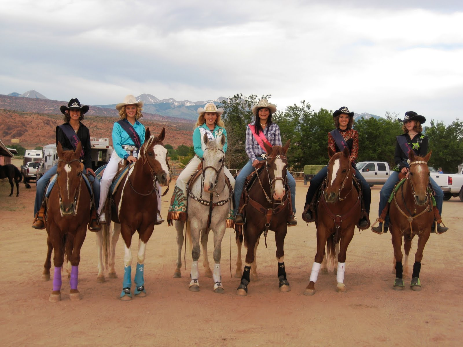 Miss Rodeo Utah 2009 Moab Canyonlands Prca Rodeo
