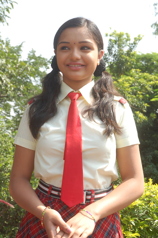 Young Girl School Uniform